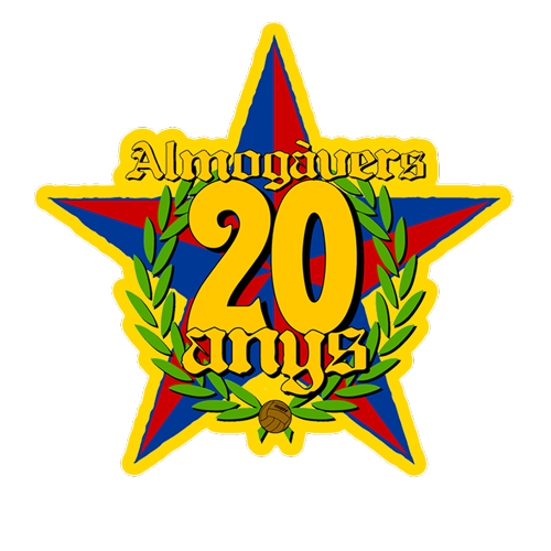 Logo 2009 - 20 anys - Penya Almogavers